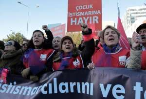 ANKARA, Turkey — Turkey's government on Tuesday scrapped a proposal that critics said would have allowed men accused of sexually abusing underage girls to go free if they were married to their victims.
