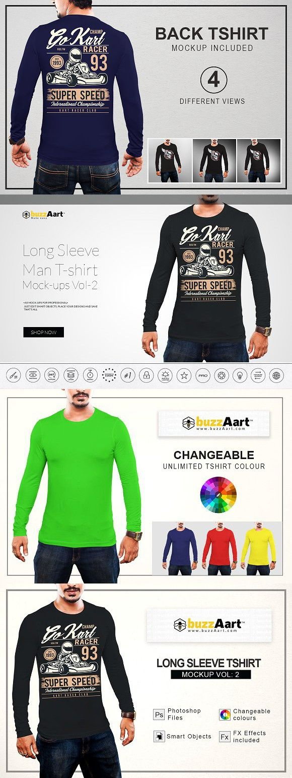 Download Long Sleeve Tshirt Mockup Vol 2 Shirt Mockup Blank T Shirts Tshirt Mockup