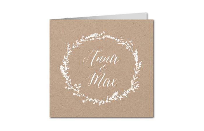 Hochzeitseinladungen Ohne Foto Hochzeitskarten Und Co Pinterest