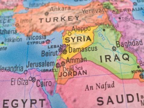 Szíria térkép - PROAKTIVdirekt Életmód magazin és hírek - proaktivdirekt.com
