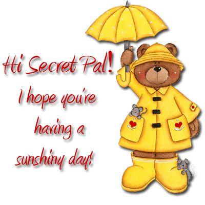 Hi, secret pal  [#1393218] Hi, secret pal!