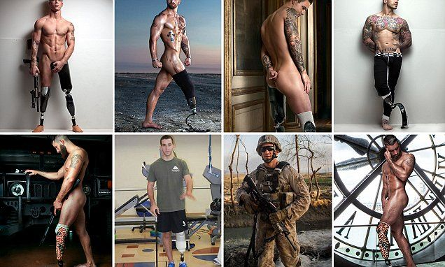 War vets take it all off for sexy photo series