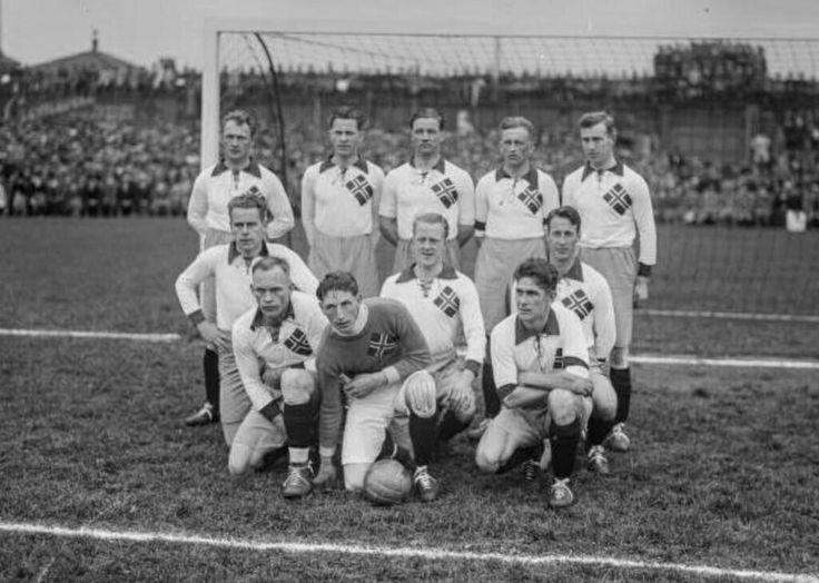 Landslaget mot Sverige 1929
