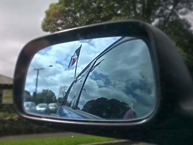 Car flag from RedPeak.co.nz