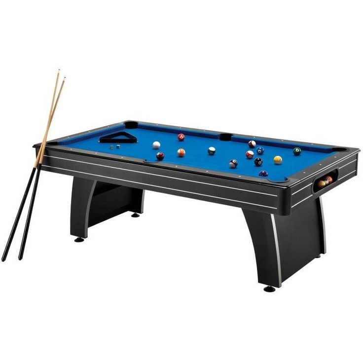 Billiard Pool Table w Ball Return and Complete Set of Accessories Game Rec Room #FatCat