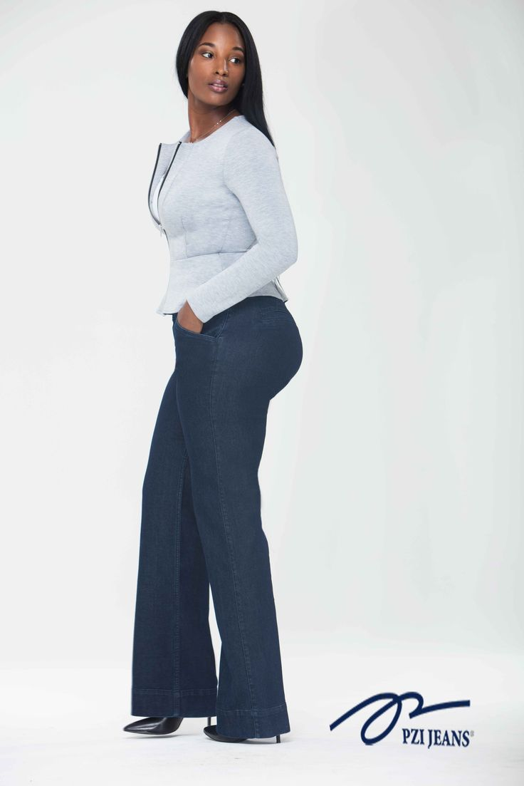 Shop for your curves and choose the Rachel Trouser perfect for work or date night. Available in sizes 4-18; short-extra long inseams. #pzijeans #denim #women #curves #jeans #ladies #embracyourcurves #loveyourcurves