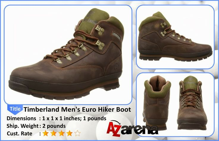 Timberland Men's Euro Hiker Boot Review   mens dress boots  Timberland Men's Euro Hiker Boot Description: Engineered for extreme outdoor performance with advanced technology, these hikers are ideal for multi-day backpacking as well as lightweight hiking. Superior support keeps feet comfortable and protected over any terrain.