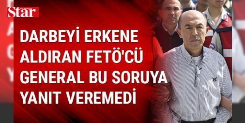 Darbeyi erkene aldıran FETÖ'cü general Talu atama listesi sorusuna cevap veremedi: Fetullahçı Terör Örgütü'nün (FETÖ) 15 Temmuz darbe girişimi sırasında Genelkurmay Karargahı'nda yaşanan eylemlere ilişkin, aralarında sözde Yurtta Sulh Konseyi üyelerinin de yer aldığı 221 kişinin yargılandığı davada, eski Genelkurmay Personel Başkanı Korgeneral İlhan Talu , Ankara 17. Ağır Ceza Mahkemesince Sincan Ceza İnfaz Kurumları Kampüsü'ndeki salonda görülen duruşmadaki savunmasında, 15 Temmuz gecesi…