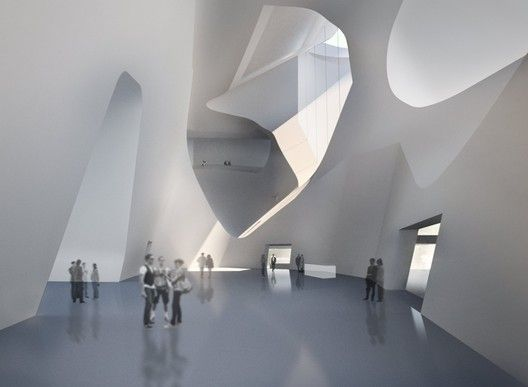 Tianjin Ecocity Ecology and Planning Museums / Steven Holl Architects,© Steven Holl Architects