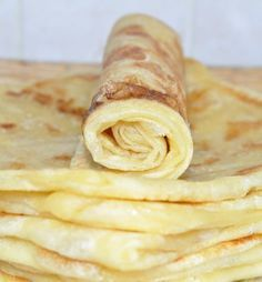 Believe it or not, they only serve crepes at certain times of the year in Casablanca