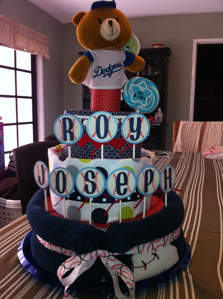 20 Best Images About Baby Shower Theme Dodger Quot Think Blue