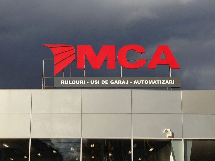 LED outdoor production: logo and individual text (7 meters wide x 3.5 meters height)