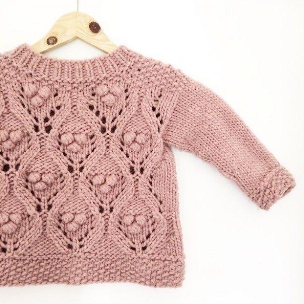 Knitting for Olive: OLIVES CHUNKY LACE strikkeopskrift