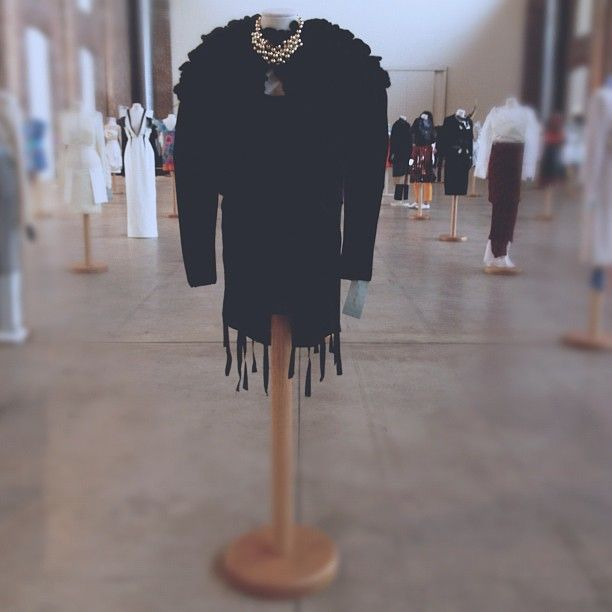 Igersmilano è arrivato alla Tavola Rotonda della Moda! In fabbrica del vapore ogi sono esposte le creazioni dei giovani studenti delle varie scuole di moda.