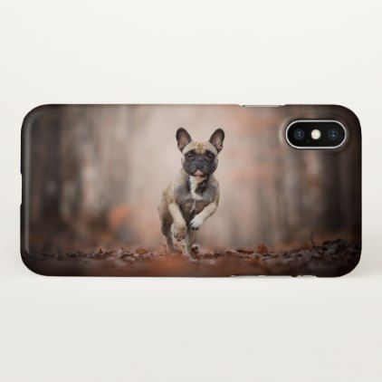 French Bulldog iPhone X Case - dog puppy dogs doggy pup hound love pet best friend