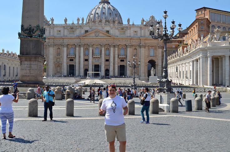 Ja viem, že nádej, viera, láska všetkých ľudí spája #VaticanCity #travel #Italy