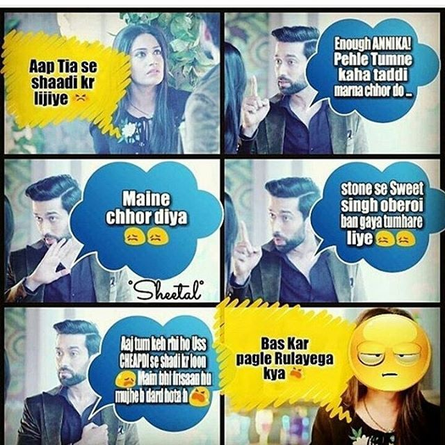hahahaha. i laaughed and cried a lot after reading this!! they are so sweet:)))) #nakul mehta #surbhi chandana #shivika #the best