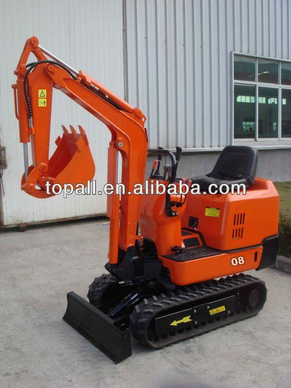 08 Mini Hydraulic Excavator