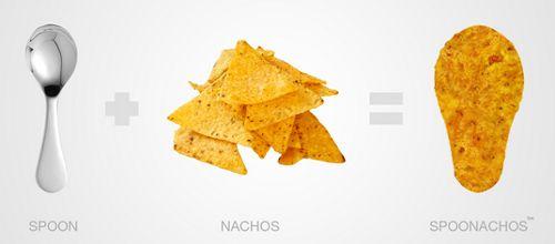 Gli Spoonachos sono piccanti ed ecologici allo stesso tempo: un #cucchiaio fatto di nachos, lo snack tipico della cucina messicana.  Come si usa? Mangiate quello che volete usando il cucchiaio, dopodiché… mangiatevi anche quello!  #Food and ideas su @marraiafura