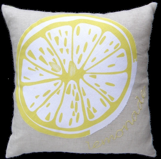 Lemonade cushion | Felt