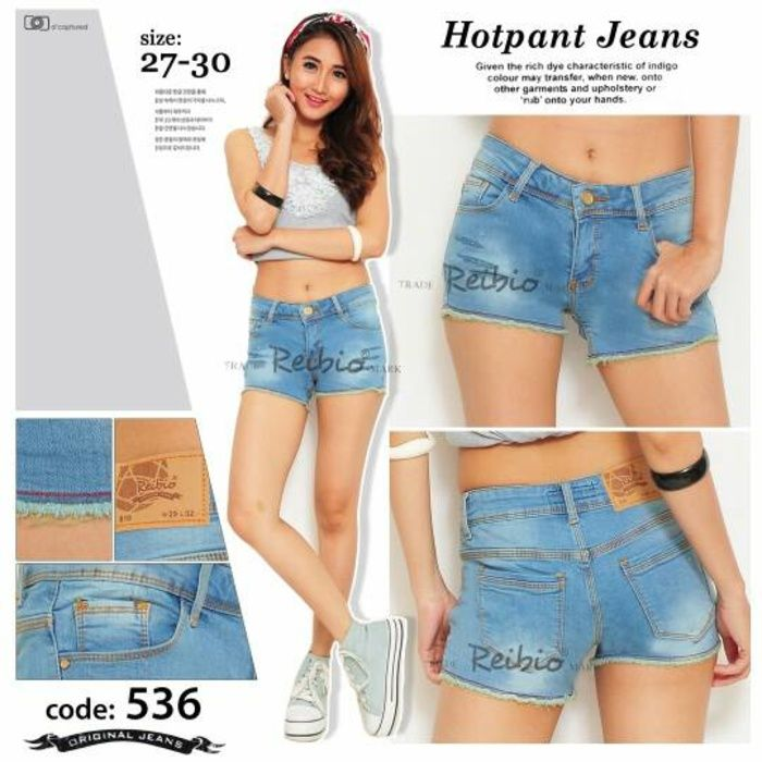 jeans hotpant celana pendek