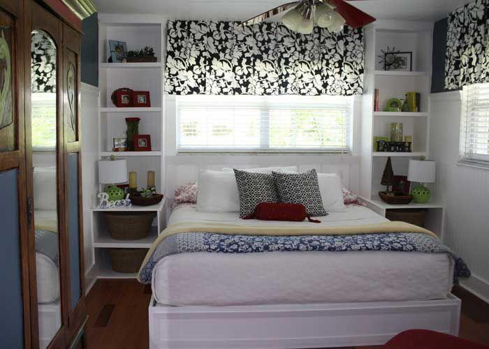 Küçük Yatak Odalarına Tasarım Fikirleri, küçük yatak odaları dekorasyonu, yatak odası modelleri, küçük yatak odaları, küçük odayı büyük gösterme