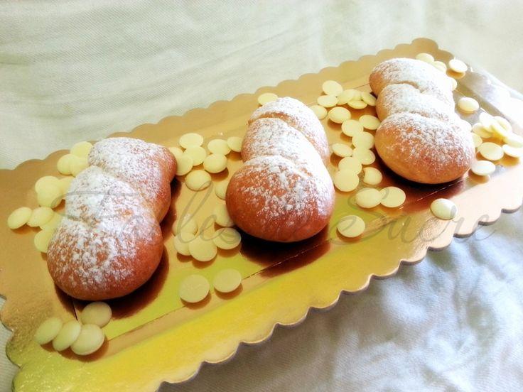 Treccia al cioccolato bianco con pasta madre