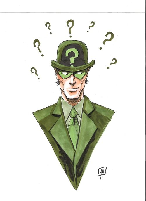 The Riddler by Jeremy Haun