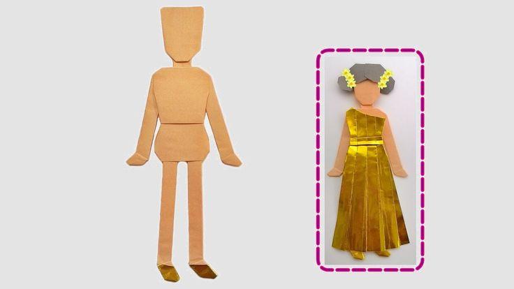 Origami - corpo e cabeça
