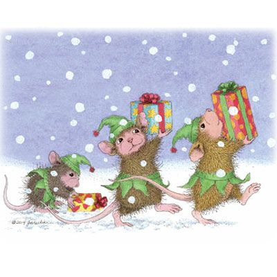 217 best House-Mouse Designs® - Christmas \ Winter images on - blank xmas cards