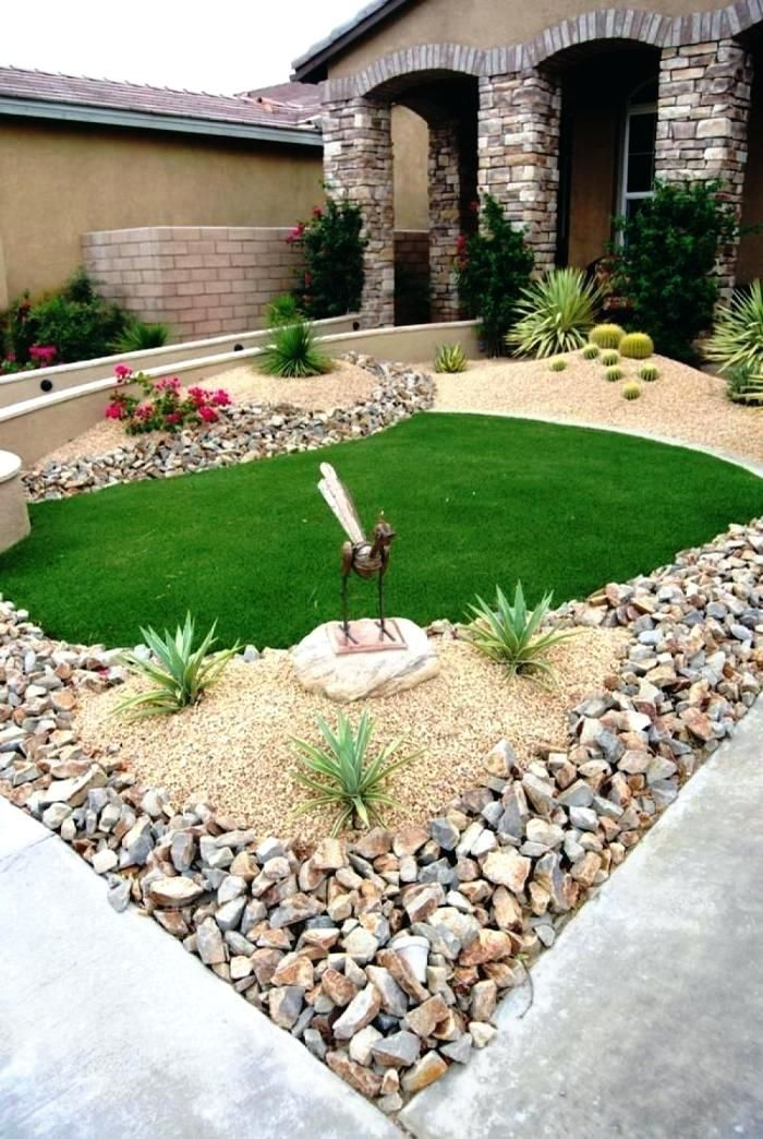 no maintenance front yard landscaping best landscaping ...