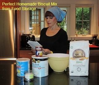 The Perfect Homemade Biscuit Mix from Food Storage - Backdoor Survival