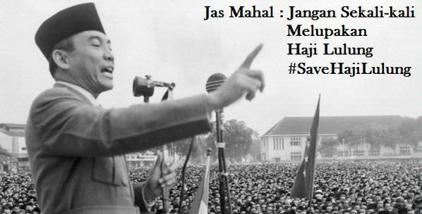 #SaveHajiLulung: Jas Mahal