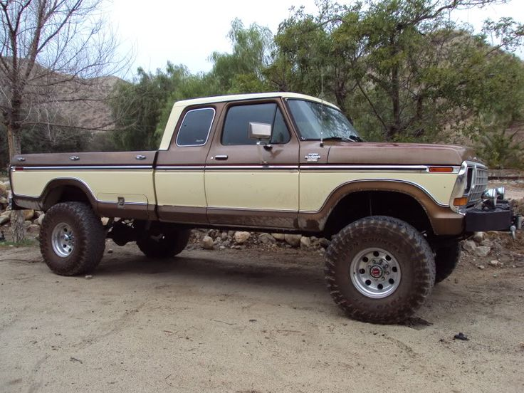 brown/tan lifted