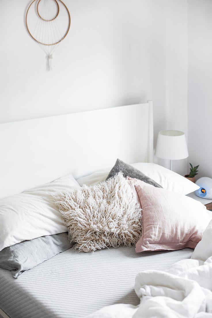 better sleep with a leesa mattress | dreamy night's rest | bedroom | interiors