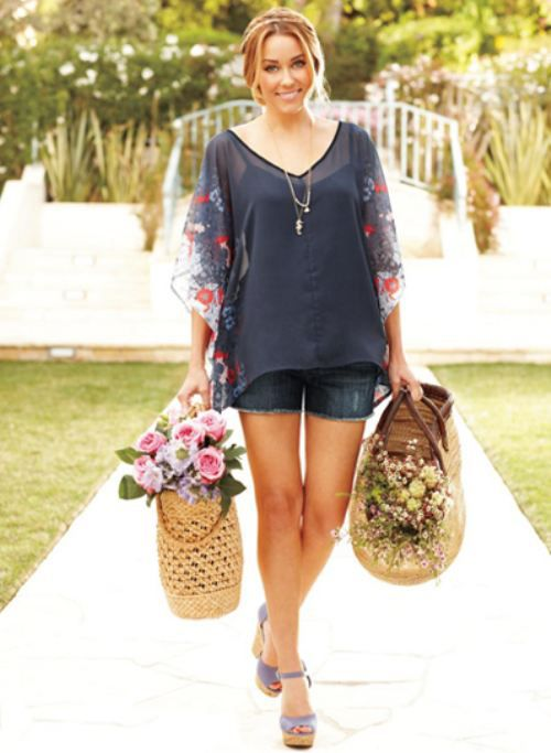 Lauren Conrad's summer line & beauty book cover unveiled (10 photos)