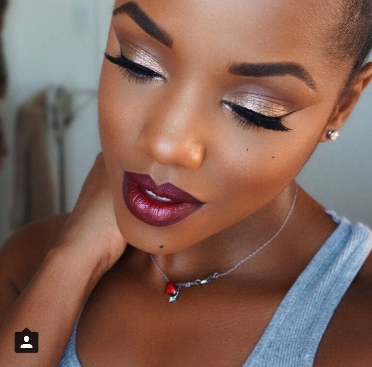 25+ Best Ideas About Makeup Black Women On Pinterest | Black Girl Makeup Makeup For Black Skin ...