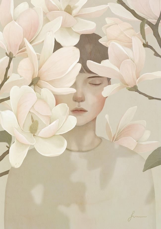 "wickedlye: "" lohrien: "" Illustrations by Jiwoon Pak "" Love these """