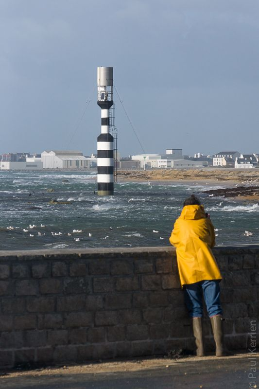 #Bretagne - #Finistere #Penmarch : Rhaaaa.... Andrea m'a décoiffé (10 photos) © Paul Kerrien - http://toilapol.net