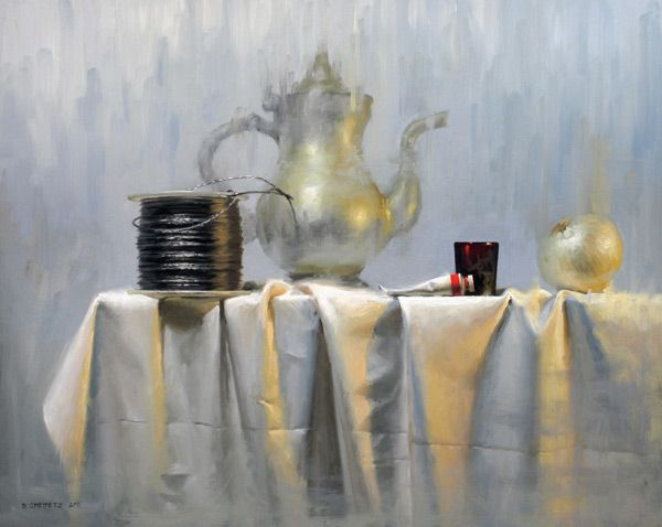 how to paint a still life step by step  artists network  David Cheifetz
