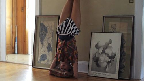 Whitney Brown in the Crave You video by Flight Facilities. Exactly what I do around the house. No, but really.