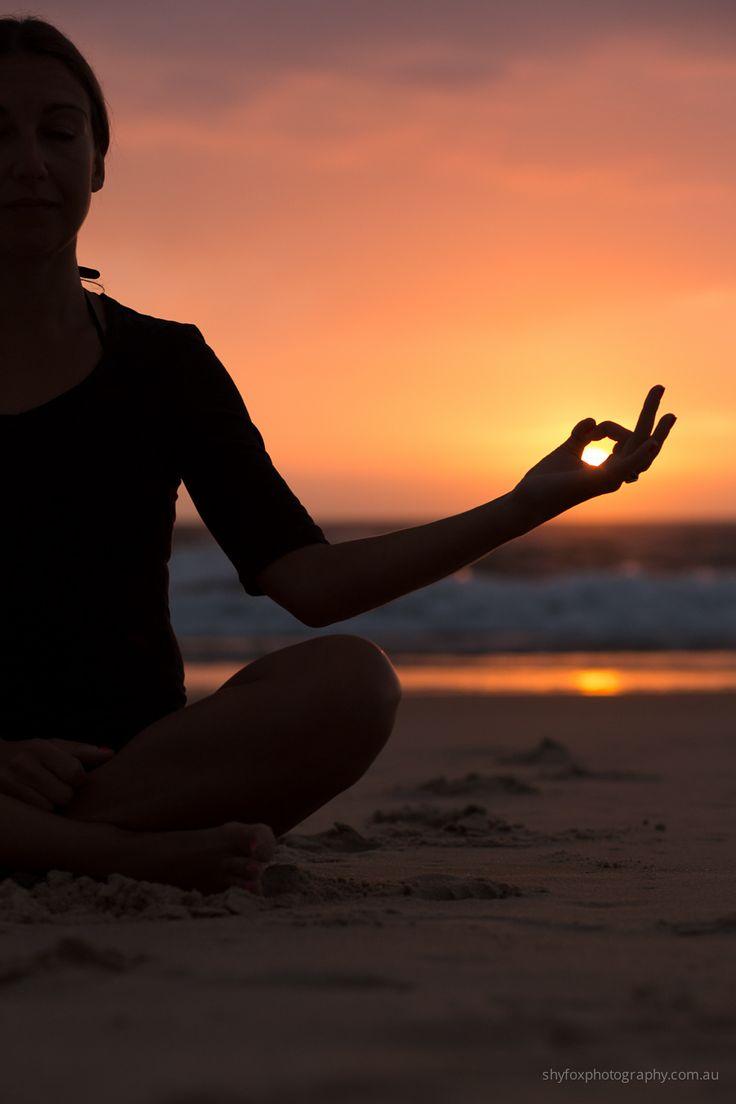 Live in the sunshine | shyfoxphotography.com.au #beach #sunrise #yoga