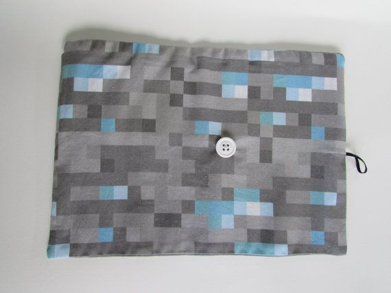 Roll Up Minecraft Pencil Case Small Pencil by MayasMakings