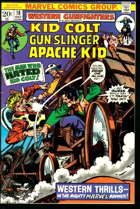 Western Gunfighters - Marvel - Silver-Age - COMICS