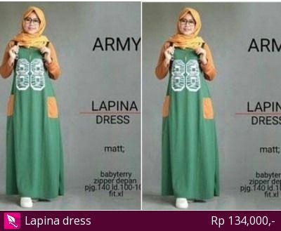 Lapina dress; Allsize muat dipakai sampai size L/ XL; LD 100-105; panjang 140; Ada resleting depan; Bahan babyterry; tebal dan hangat sangat nyaman dipakai  Lokasi : Salatiga Berat Barang : 500 gr  #hijab #me #hijabers #jilbab #selfie #Islam #fashion #hijabstyle #kerudung #hijabfashion #likeforlike #tudung #selfie #cantik #manis #hijablovers #Gamis #Busana #kemejacewek #Abaya