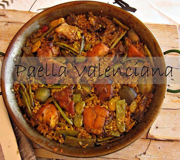A la rica Paella Valenciana. Así es, en realidad, la receta de este plato tan versionado