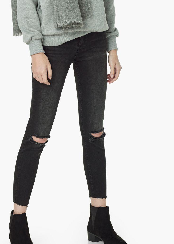 Jeans skinny crop isa - Jeans da Donna | MANGO