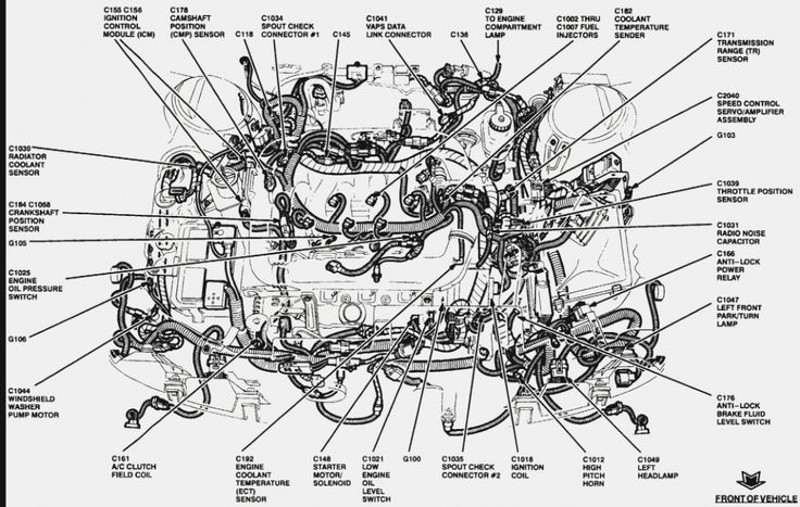 Engine Wiring Diagram For 8 Ford Ranger Hood Di 2020