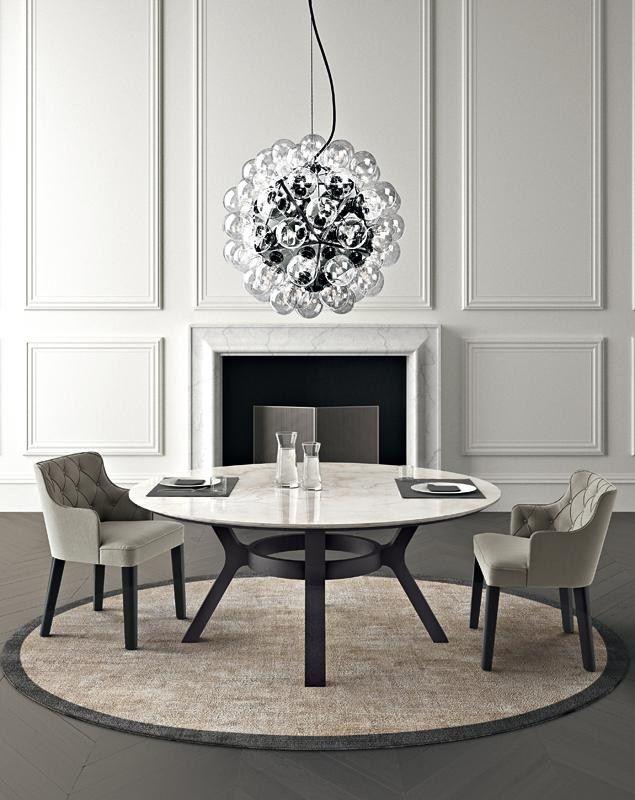 Oltre 25 fantastiche idee su tavoli da pranzo in marmo su pinterest tavoli da pranzo rotondi e - Tavolo da pranzo molteni ...