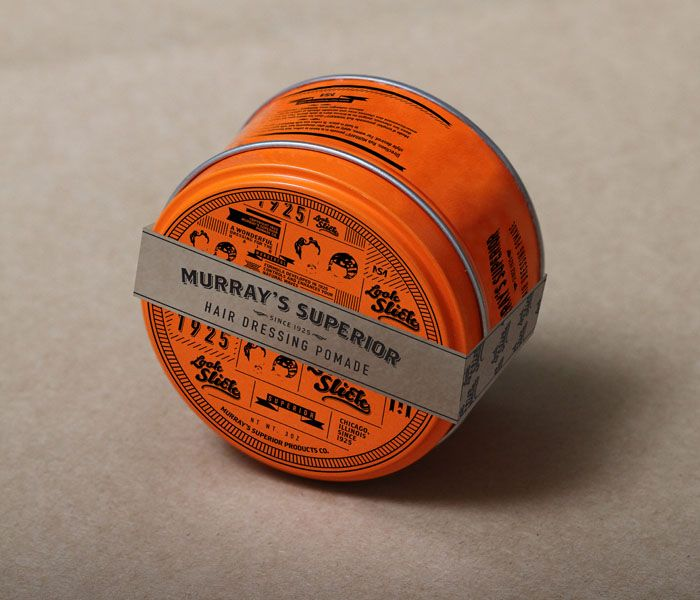 Student Spotlight: Murray's Superior Hair Dressing Pomade - The Dieline -